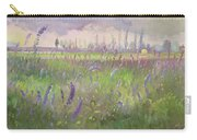 Delphiniums, Storm Passing Carry-all Pouch