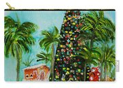 Delray Beach Christmas Tree Carry-all Pouch