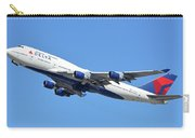 Delta Boeing 747-451 N667us Phoenix Sky Harbor October 7 2017  Carry-all Pouch