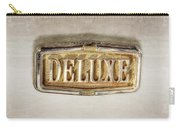 Deluxe Chrome Emblem Carry-all Pouch