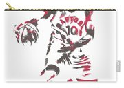 Demar Derozan Toronto Raptors Pixel Art 7 Carry-all Pouch