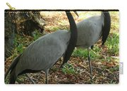 Demoiselle Cranes Carry-all Pouch