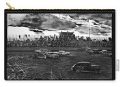 Demolition Derby Corona Speedway Tucson Arizona 1968-2008 Carry-all Pouch
