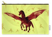 Demon Winged Horse Carry-all Pouch