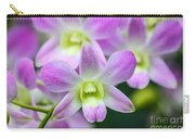 Dendrobium Orchids Carry-all Pouch