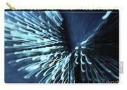 Denim And Light  Abstract 2 Carry-all Pouch