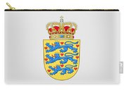 Denmark Coat Of Arms Carry-all Pouch
