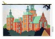 Denmark, Rosenborg Castle, Vintage Travel Poster Carry-all Pouch