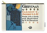 Denslows Night Before Christmas By Clement Moore Lld 1902 Carry-all Pouch