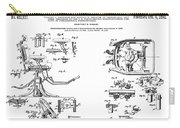 Dentists Chair Patent 1892 Carry-all Pouch