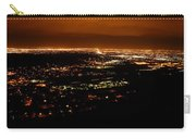 Denver Area At Night From Lookout Mountain Carry-all Pouch