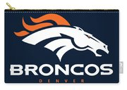Denver Broncos Nfl Carry-all Pouch