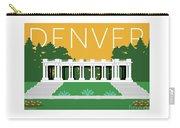 Denver Cheesman Park/gold Carry-all Pouch by Sam Brennan