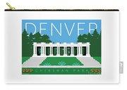 Denver Cheesman Park Carry-all Pouch by Sam Brennan