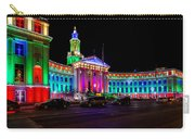 Denver City County Building Holiday Lighting. Carry-all Pouch
