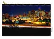 Denver Night Skyline Carry-all Pouch