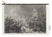 Departure Of Prince William V, 1795, Joannes Bemme, After Dirk Langendijk, After Christoffel Meijer, Carry-all Pouch