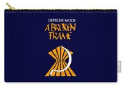 A Broken Frame Logo With Name Carry-all Pouch