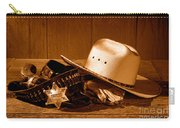 Deputy Sheriff Gear - Sepia Carry-all Pouch