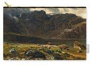 Der Hintere Murgsee. St. Galler Alpen. 1878 Carry-all Pouch