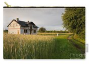 Derelict Disused House In Field Carry-all Pouch