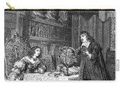 Descartes Teaching Queen Christina, 1649 Carry-all Pouch