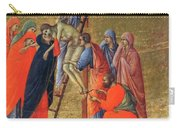 Descent From The Cross 1311 Carry-all Pouch