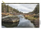Deschutes River At Eagle Crest Carry-all Pouch