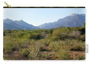 Desert And Mountains In Mexico Cabo Pulmo Carry-all Pouch