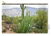 Desert Chaparral Carry-all Pouch