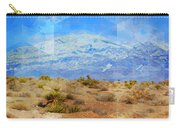 Desert Contrasts Carry-all Pouch by Michelle Dallocchio