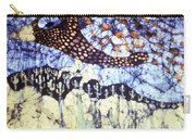 Desert Crow Carry-all Pouch by Carol Law Conklin