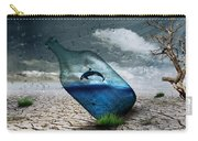 Desert Dolphin Bottle Nature Carry-all Pouch