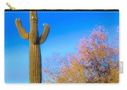 Desert Duo In Bloom Carry-all Pouch