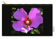 Desert Hibiscus With Honey Bee Carry-all Pouch