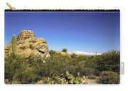 desert plants in Saguaro National Park Carry-all Pouch