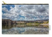 Desert River Cloud Reflection Carry-all Pouch