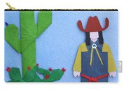 Desert Roadrunner By Mary Ellen Palmeri Carry-all Pouch