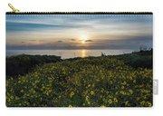 Desert Sunflowers Coastal Sunset 2 Carry-all Pouch