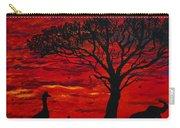 Desert Sunset 3 Carry-all Pouch