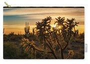 Desert Sunshine Shining Through  Carry-all Pouch