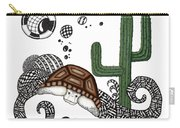 The Desert Tortoise Carry-all Pouch
