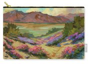 Desert Verbena At Borrego Springs Carry-all Pouch