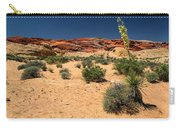 Desert Yucca In Bloom Valley Of Fire Carry-all Pouch