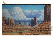 Rainstorm Over Monument Valley Carry-all Pouch