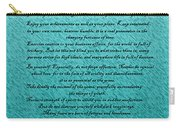 Desiderata Carry-all Pouch