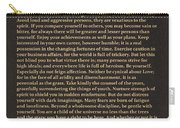 Desiderata Signature Collection Carry-all Pouch