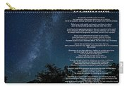Desiderata - The Milky Way  Carry-all Pouch
