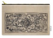 Design For A Binding For Charivaria, Carel Adolph Lion Cachet, 1874 - 1945 Carry-all Pouch