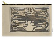 Design For A Charter On The Occasion Of Twelve-and-a-half-year Service, Carel Adolph Lion Cachet, 18 Carry-all Pouch